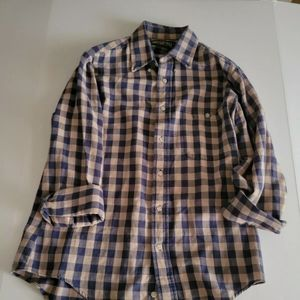 American Eagle Outfitters Vintage Plaid Shirt Size